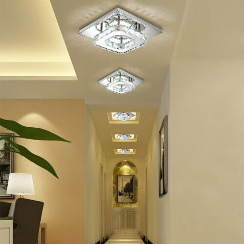 LED Kristall Deckenlampe Flurleuchte Schlafzimmer Wandlampe Beleuchtung 12W-72W