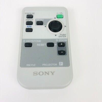 Actief Sony Rm-pj2 Projector Remote Control Vpl-es1 Vpl-cs3
