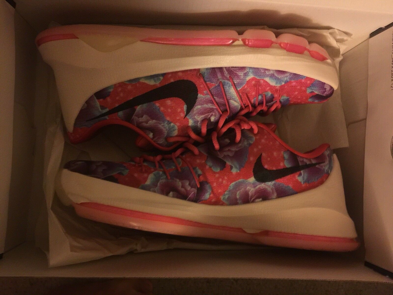 Nike kd 8 Aunt Pearl size 9