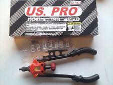 US PRO Tools Long Arm Threaded Nut Riveter M3-12 NEW B5434