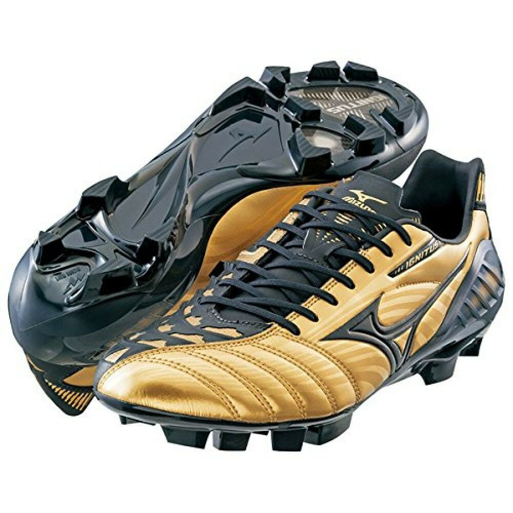 Mizuno Soccer chaussures Spike Wave Ignitus 3MD or P1GA1430 X US6.5 noir