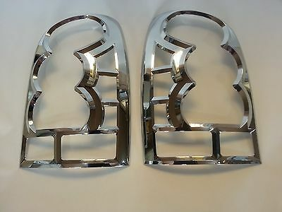 NEW CHROME TAIL LAMP COVER MOLDING:2p MADE KOREA for SSANGYONG  REXTON 2001~2006