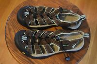 KEEN Newport H2 Sport Sandals Water Shoes Women's Size 8.5 Brown Black/Canton