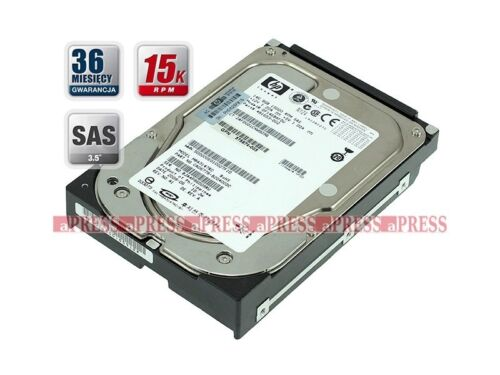 "1 of 1 - HP DF146BAFDU 146GB SAS 15K 3.5"" 481653-002"