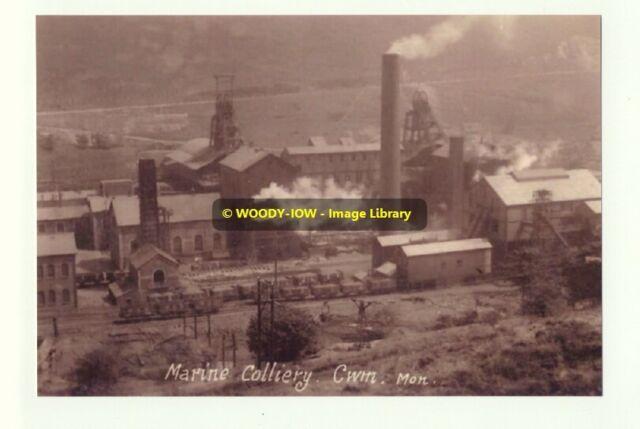rp6605 - Marine Colliery , Cwm , Wales - photo 6x4