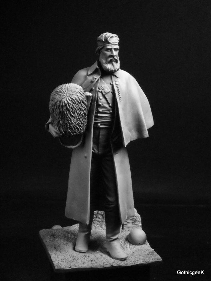Troop54 Officer Grenadier Guards Inkerman Crimea 1854 Unpainted kit 75mm