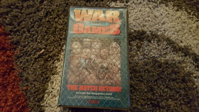 War Games Bash 87 - The Match Beyond (VHS, 1988) 1987 THE WARGAMES I AND II wwf