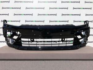 VW-TIGUAN-R-LINE-2016-2019-FRONT-BUMPER-GENUINE-V608