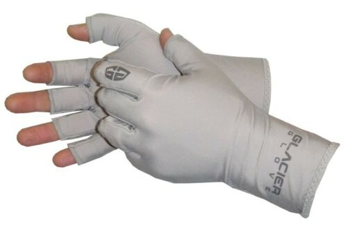 UPF SUN GLOVES LARGE//EXTRA LARGE L//XL ABACO GLACIER GLOVE FISHING OUTDOOR 50