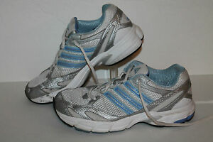Shoes Womens Adidas White 7 silver Us Running Blue Size lt Sample rrq5g0