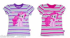 MY LITTLE PONY EQUESTRIA GIRLS TSHIRT PINKIE PIE AGE 4-10  *NEW*   290