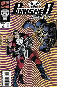 Punisher-Comic-Issue-9-2099-Modern-Age-First-Print-1993-Pat-Mills-Skinner-Morgan