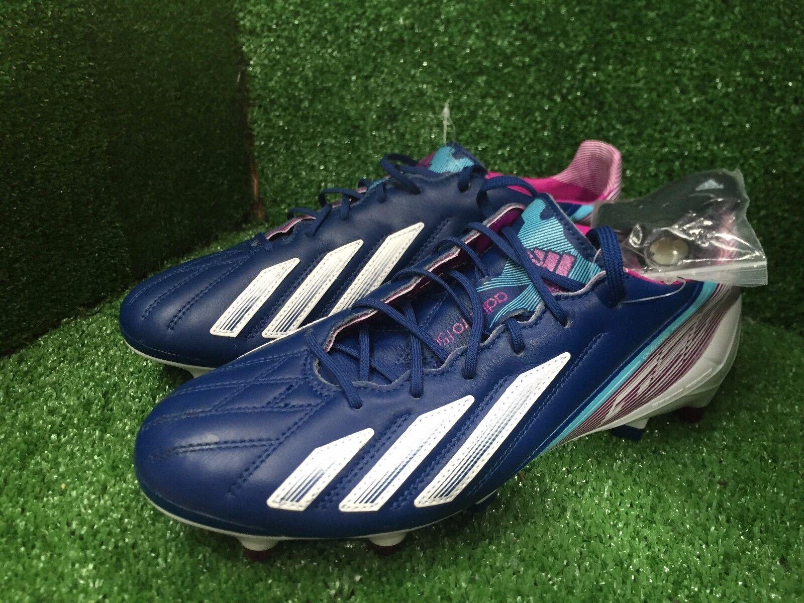 Adidas f50 Adizero Sg Zapatos púrpura F50+ 8 7,5 41