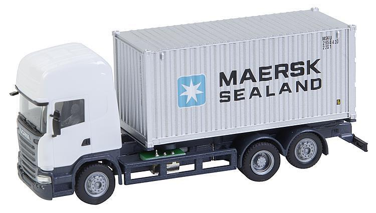 Faller 161598 Ho Car System Camión Scania R 13 TL Seecontainer (Herpa)