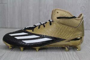 29 Nuovi Uomini Raro Adidas 5 Star Metà Oro Nero Calcio Calcio Squadra