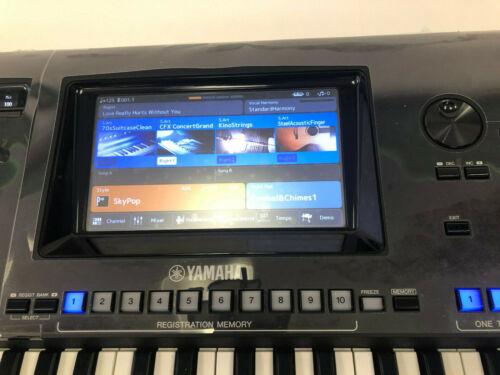 DISPLAY Schutzfolie für YAMAHA GENOS Keyboard MATT entspiegelt