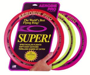 Aerobie-13-pro-Anello-Rosa-Divertente-Frisbee-Giocattolo-Gioco