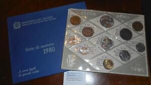 NL-ITALIA-Divisionale-anno-1980-con-500-LIRE-CARAVELLE-FDC-SET-zecca-perfetto