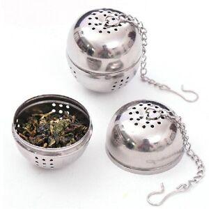 Tea-Infuser-Ball-Mesh-Loose-Leaf-Herb-Strainer-Stainless-Steel-Secure-Locking