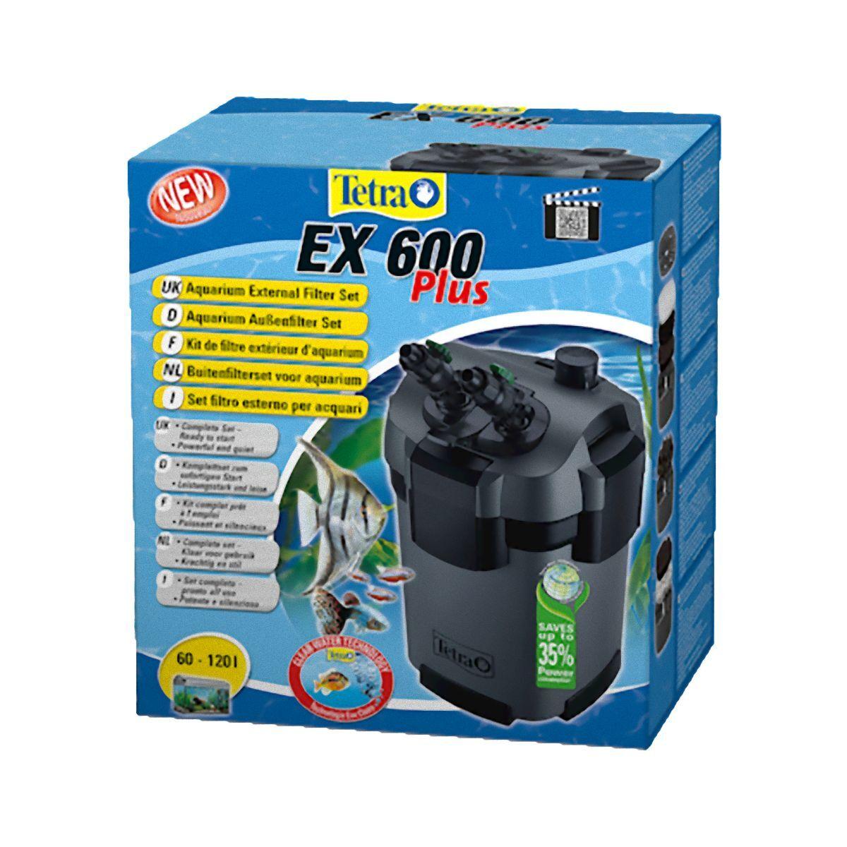 Tetratec EX600 External External External Filter Fish Tank Filtration Canister Filter Tetra Tec 55af5a