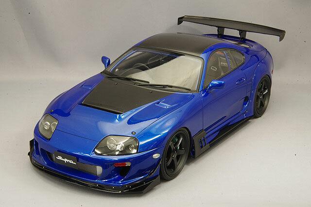 JZA80 Ignition Model IG 1:64 Toyota Supra RZ Metallic Blue