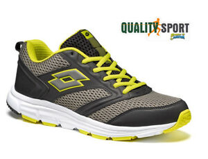 Image is loading Lotto-Speedride-500-Grey-Black-Yellow-Sports-Shoes-