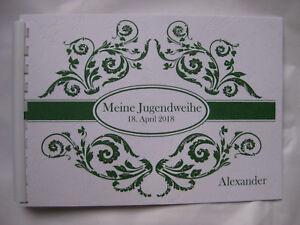 Gastebuch Din A 5 Jugendweihe Geschenk Deko Tischdeko Geschenkidee