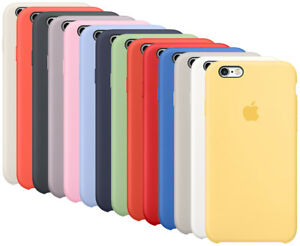 new concept b00ba 03794 OEM Original Apple Silicone Case For Apple iPhone 6, iPhone 6s 100 ...