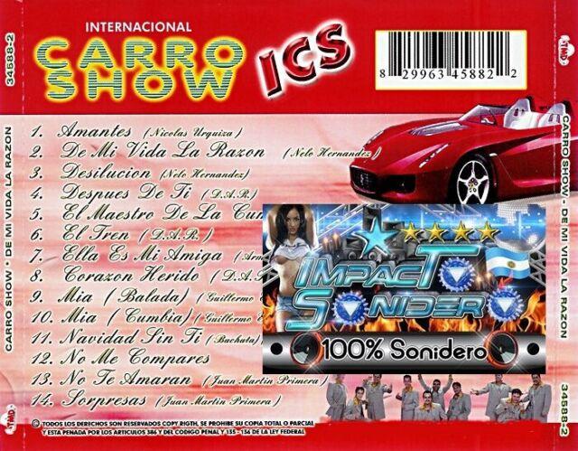 Internacional Carro Show De Mi Vida La Razon Cd Nuevo For Sale Online Ebay