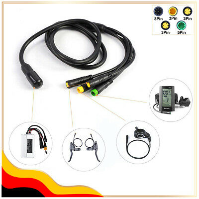 For Bafang 1T4 extend cable E-Bus Wiring Harness Cable BBS01 BBS02 BBSHD kits