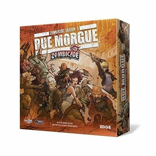 Edge Zombicide Extension via Morgue available