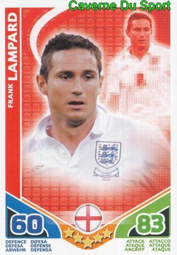 FRANK LAMPARD # ENGLAND CARD CARTE MATCH ATTAX STARS MONDIALE 2010 TOPPS