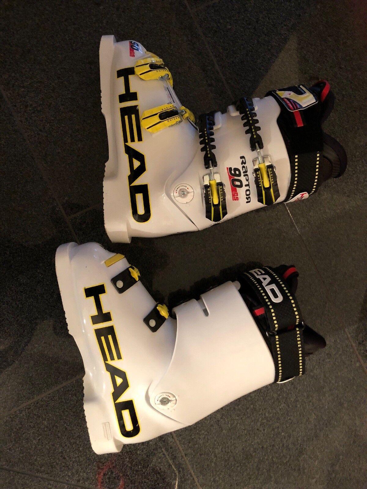 HEAD RAPTOR 90 Racing Skischuhe Unisex Gr.38 1 Tag(2,5 Std.) getragen 289 Euro