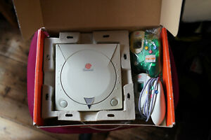 Sega Dreamcast console with box and instructions Japanese Jap NTSC-J