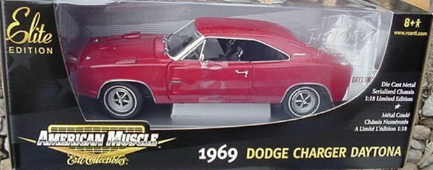 1969 Charger Daytona RED 1 18 Ertl American Muscle 39477