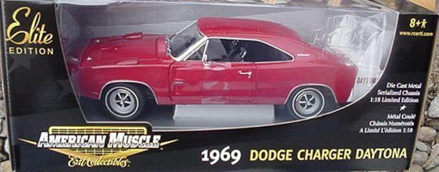 1969 charger daytona rote 1,18 ertl amerikanische power 39477