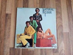The Natural Four Vinyl LP Natural Four US 1974 VG/VG++