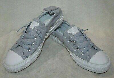 Converse Women's CT AS Shoreline Wolf GreyPlatinum Slip On Sneaker Asst Sz NWB | eBay