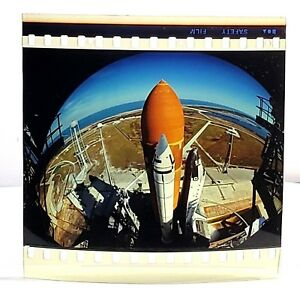 Ambitious Imax Film Cell Challenger Shuttle Launch From The Dream Is Alive Nasa 70mm Collectibles Astronauts & Space Travel