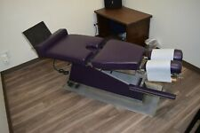 Preowned Chiropractic Table Electronic Tilt To Vertical
