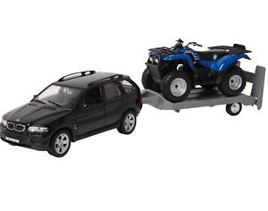 Welly-Chicos-Ninos-Coche-de-juguete-modelo-de-coche-Off-Road-Conjunto-Negro-Legler-la-edad-de-5-anos