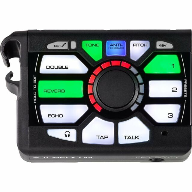 tc helicon voicelive play gtx vocal harmony live effects processor pedal for sale online ebay. Black Bedroom Furniture Sets. Home Design Ideas