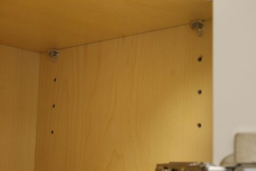 20 Cabinet Shelf Supports 5 MM or 3//16 inch holes