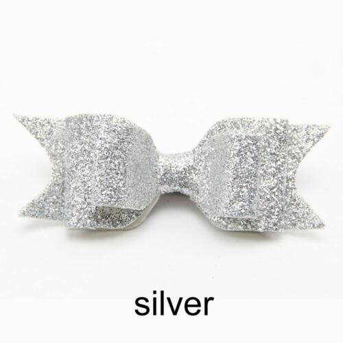 Cute Girls Baby Sequined Bow Knot Hairpin Hair Clip