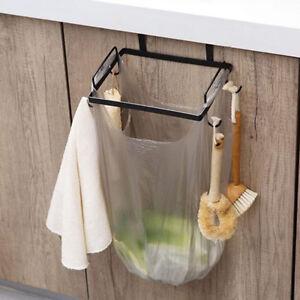 Incroyable 2pcs support sac poubelle armoire de cuisine armoire porte sac ZX-16
