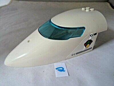 LEGO  54092C01PB01 CURVED FORWARD AIRCRAFT FUSELAGE  AIRLINE BIRD STICKER