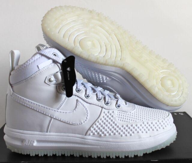 56d243168cae Nike Mens Lunar Force 1 Duckboot Sneaker Boot White white All Sizes ...