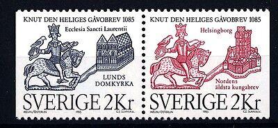 SWEDEN - SVEZIA - 1985 - 900° della donazione di terreni al Duomo di Lund -