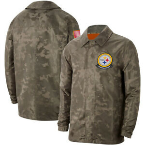 Pittsburgh-Steelers-Jacket-Salute-to-Service-Sideline-Coat-Casual-Breasted-Top