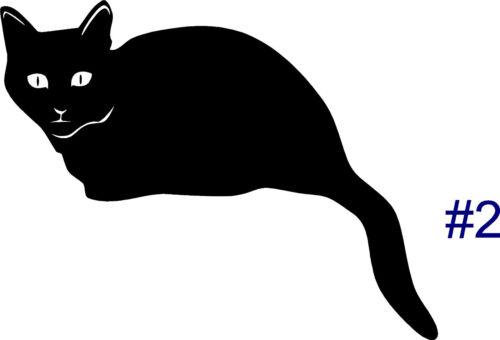 Cat Kittens Wall Sticker Wall Art Decor Vinyl Decal Mural  CUTE Cats YOU CHOOSE